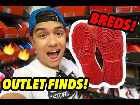 BREDS AT NIKE OUTLET FOR $40!!