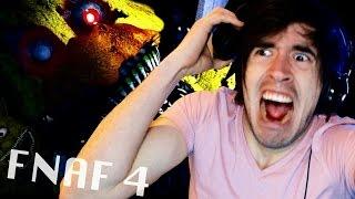 SUSTOS, INFARTOS Y MAS SUSTOS! | Five Nights at Freddy's 4 (2) - JuegaGerman
