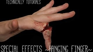 special effects brokenhanging finger  technically tutorials