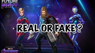 FIRST LOOK AT CAPTAIN MARVEL, FAT THOR & RESCUE (Avengers Endgame Update) | Marvel Future Fight