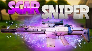 SCAR SNIPER (Fortnite Battle Royale)