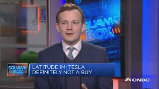 Tesla will likely get bought by a tech company, analyst says | Squawk Box Europe