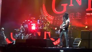 Coachella week 1 2016 Guns N' Roses first 34min of performance