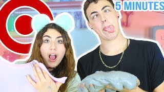 5 MINUTE SLIME SUPPLY IN STORE CHALLENGE | Slime in public series!