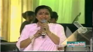 Yeh Larka Hai Allah - Asha Bhosle Live