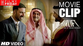 AIRLIFT MOVIE CLIPS 1-  Ranjeet Katyal Before IRAQ Invades KUWAIT