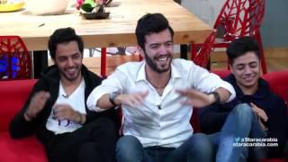 هايدي، مروان، نيسم، و محمد عباس في جلسة السوشيال ميديا الاخيرة - ستار اكاديمي 11 - 24/12/2016