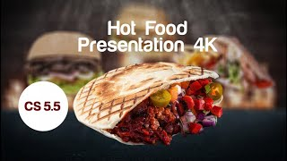 Hot Food Presentation 4K After Effects Templates