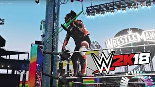WWE 2K18 Gameplay   The New Day vs ... Each Other (Triple Threat Match at Wrestlemania)