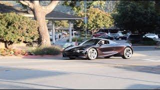 Car Week 2017 - McLaren Gas Station Takeover - 720S, 570S Spider, 570GT