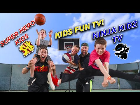 Xxx Mp4 TRICK SHOT H O R S E Ft Ninja Kidz TV SuperHeroKids Kids Fun TV 3gp Sex