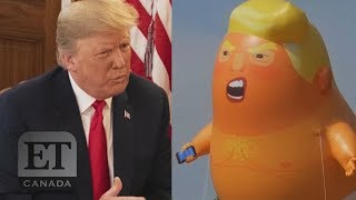 Trump Responds To Blimp Baby