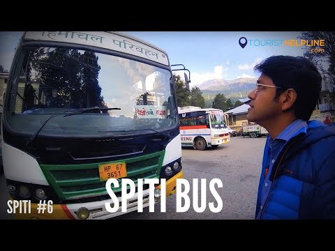 RECKONG PEO TO KAZA SPITI HIMACHAL ROADWAYS HRTC Part 1