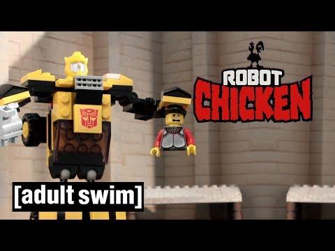 Robot Chicken Does LEGO Adult Swim UK 🇬🇧