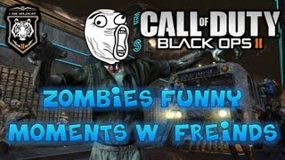 Black Ops 2 Zombie Funny Moments w/ Panda, Vanoss, and Friends | Ep. 1