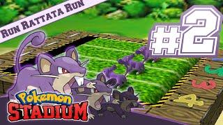 Pokemon Stadium - Minigames (N64) Ep2: Run Rattata Run!