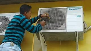 Teknik Sederhana Mencuci AC Split Mudah dan Gampang, Bebas Air