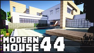 Minecraft - Modern House 44