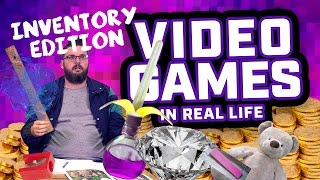 KIDS FUNNY // Video Games In Real Life - Inventory