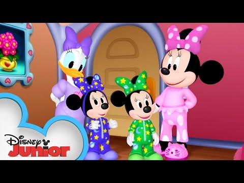Slumber Party | Minnie's Bow-Toons | Disney Junior