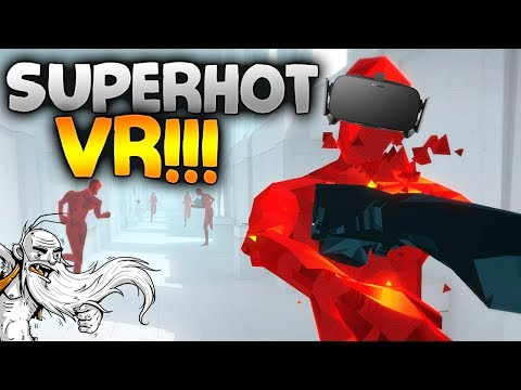 SuperHOT VR Gameplay -