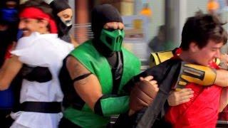 Mortal Kombat Kidnaps Street Fighter (Epic Prank!)