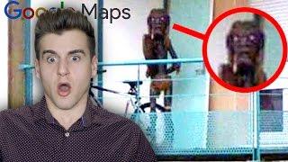 Creepiest Photos Caught On Google Maps!