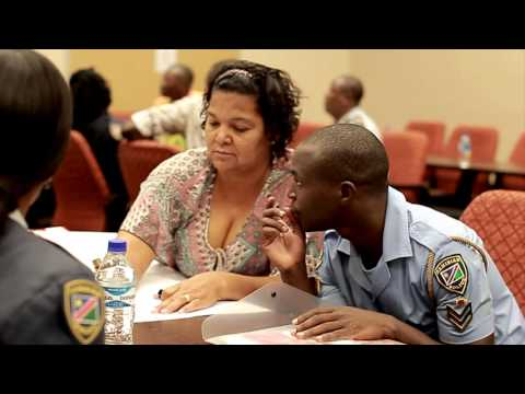 Training of the police in Namibia