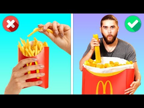 12 CRAZY YET DELICIOUS FOOD HACKS YOU WILL LOVE