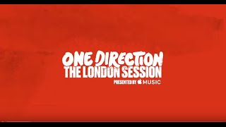 [EXCLUSIVE] Sneak Peak One Direction London Session