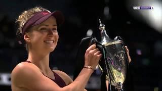 بطولات رابطة التنس للمحترفات:سفيتولينا تحرز لقب البطولة الختامية على حساب ستيفنز