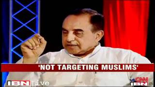 Devil's Advocate: Subramanian Swamy vs Karan Thapar : Indian Muslims have Hindu ancestry