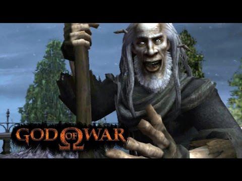 watch GOD OF WAR #5 - Oráculo e o Louco do Cemitério! (PS3 Gameplay em Português)