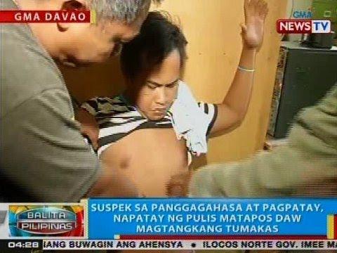 BP: Suspek sa panggagahasa at pagpatay, napatay ng pulis matapos daw magtangkang tumakas