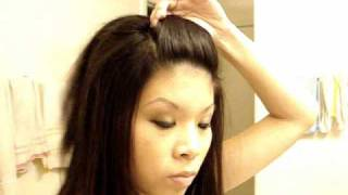 Front Poof Hairstyle