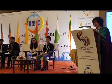 Xxx Mp4 Giving Speech At 1st South Asian Youth Summit 2017 Held In Bhubaneswar Odisha India 3gp Sex