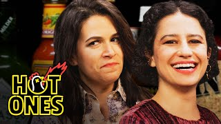 Abbi and Ilana of Broad City Go Numb While Eating Spicy Wings | Hot Ones