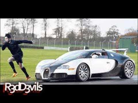 Cristiano Ronaldo Bugatti İle Yarış