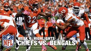 Chiefs vs. Bengals | Week 4 Highlights | NFL
