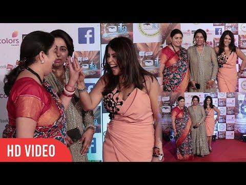 Xxx Mp4 Smriti Irani And Ekta Kapoor At 17th Indian Television Academy Awards ITA Awards 2017 Colors TV 3gp Sex