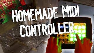 Homemade midi controller demo