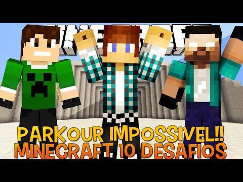 Os 10 Desafios Minecraft 1
