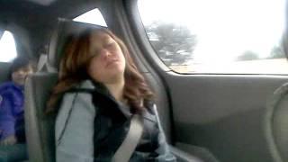 My Sis Sleeping In The Car