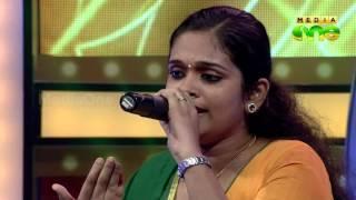 Pathinalam Ravu Season 5 | Theertha - Song'മിഴി നീരിൻ കവിളത്ത്' (Epi10 Part1)