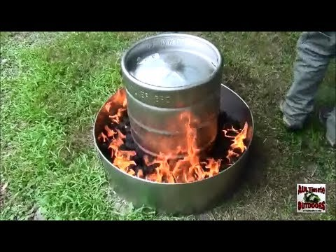 HOW TO COOK A TURKEY IN 2 HOURS THE EASY WAY IN A BEER KEG