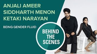 Siddharth Menon, Ketaki Narayan & Anjali Ameer || Photo Shoot Video || FWD Magazine