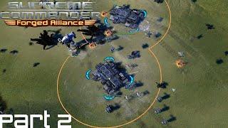 Supreme Commander FAF Forged Alliance Co Op Campaign Part 2