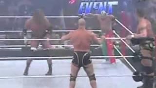 WWE.John Cena   Triple H VS Kurt Angle   Randy Orton   Rey M - Vidéo Dailymotion.mp4