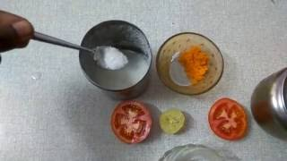 How To Get White Skin Naturally:Home Made Face Pack  To Get Fair & Glowing Face in telugu