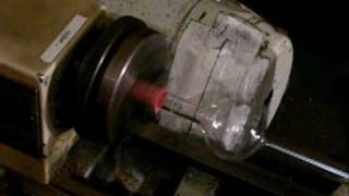 Homemade Incandescent Lamp (Glass Blowing)